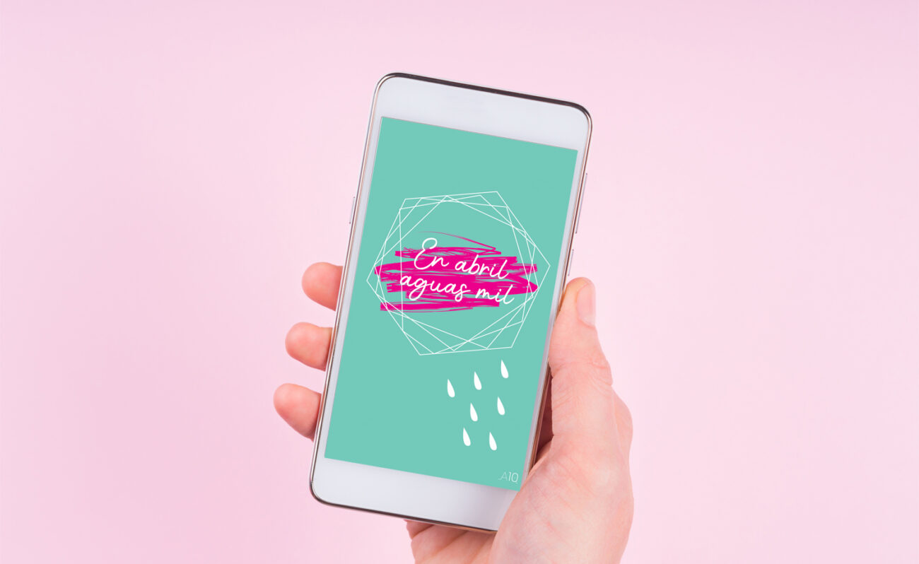 Free phone and PC wallpaper - April 2020