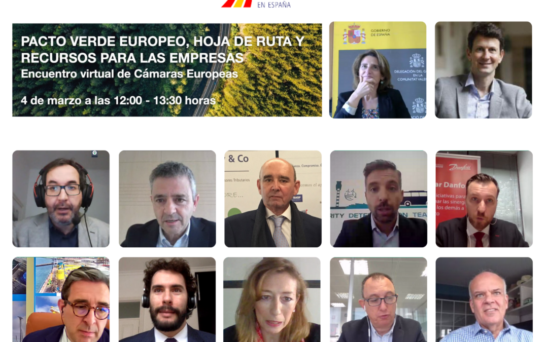 AREA1O Marketing and the event about the European Green Deal and the Spanish Minister of Ecological Transition